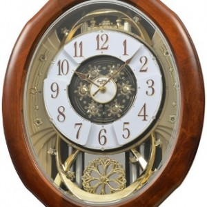 Rhythm-Magnificent-4MH884WD06-Musical-Motion-Wall-Clock-1m