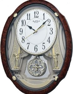 Rhythm-Trumpet-Duet-II-4MJ427WU23-Musical-Motion-Wall-Clock-m