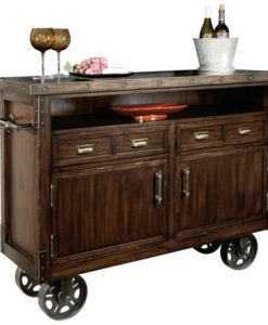 Howard Miller 695-146 Barrows Wine and Bar Cabinet